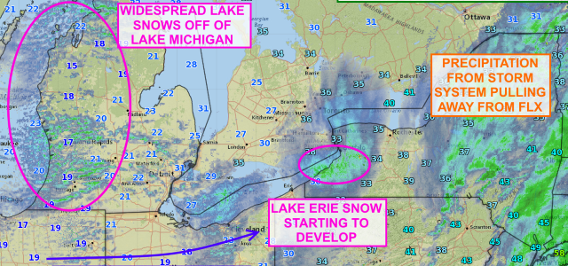 Bitter cold, lake effect approaching Finger Lakes