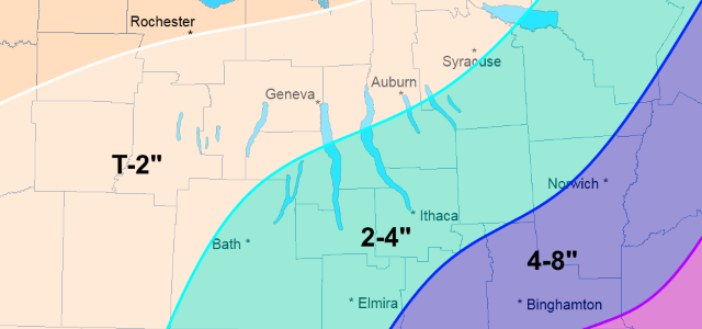 Few changes to storm forecast for FLX: Wednesday morning update