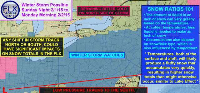 Winter Storm Watches issued for parts of the Finger Lakes