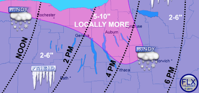 Very dangerous winter weather starting Saturday evening, lasting through Sunday