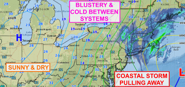 Cold, blustery Saturday for Finger Lakes