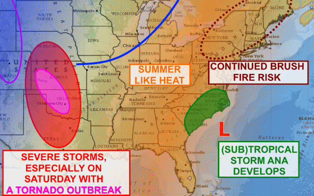 Wild Weather Ahead Across America