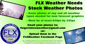 Finger Lakes Weather needs basic weather images for a new project. Can you help out by sending with some weather photos?