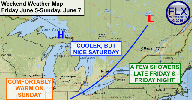 Nice weather for Finger Lakes through the weekend