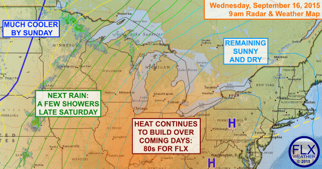 Finger Lakes heating up through Saturday