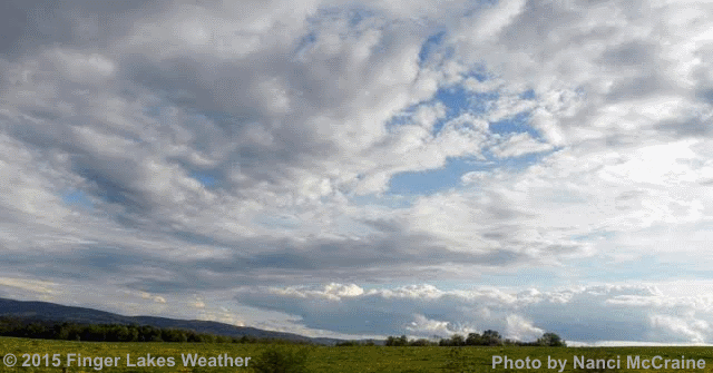 More clouds than sun this weekend in FLX