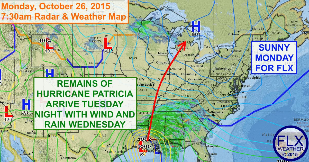 High pressure will keep the Finger Lakes quiet on Monday and Tuesday before a stormy second half of the week.