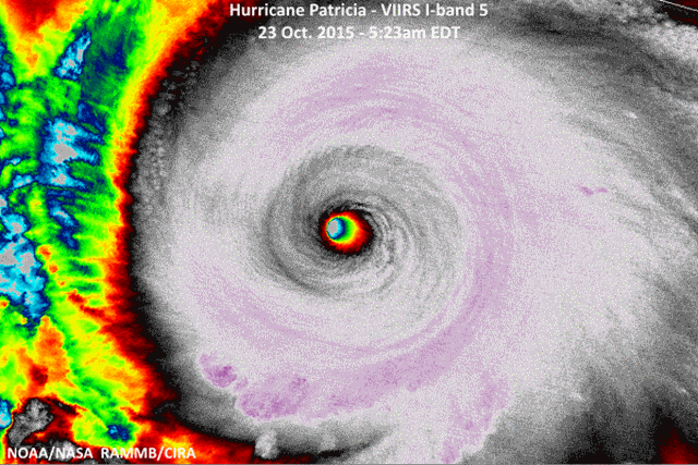 A record breaking hurricane in the east Pacific, Patricia, will slam into Mexico with winds of 200+ mph on Friday.