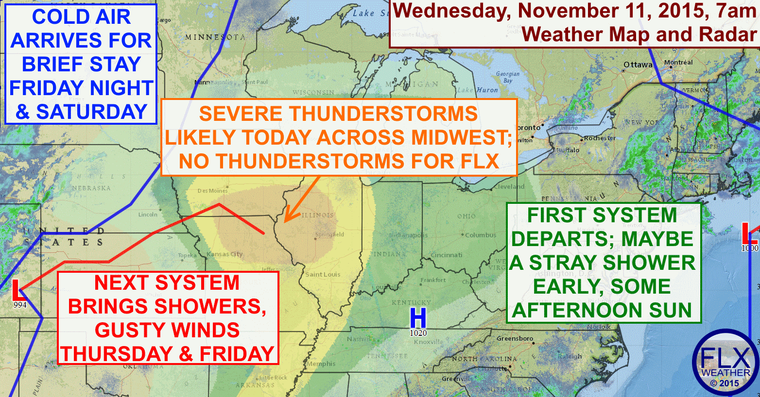 The Finger Lakes will see a break in the weather on Wednesday before more rainy weather arrives for Thursday & Friday.