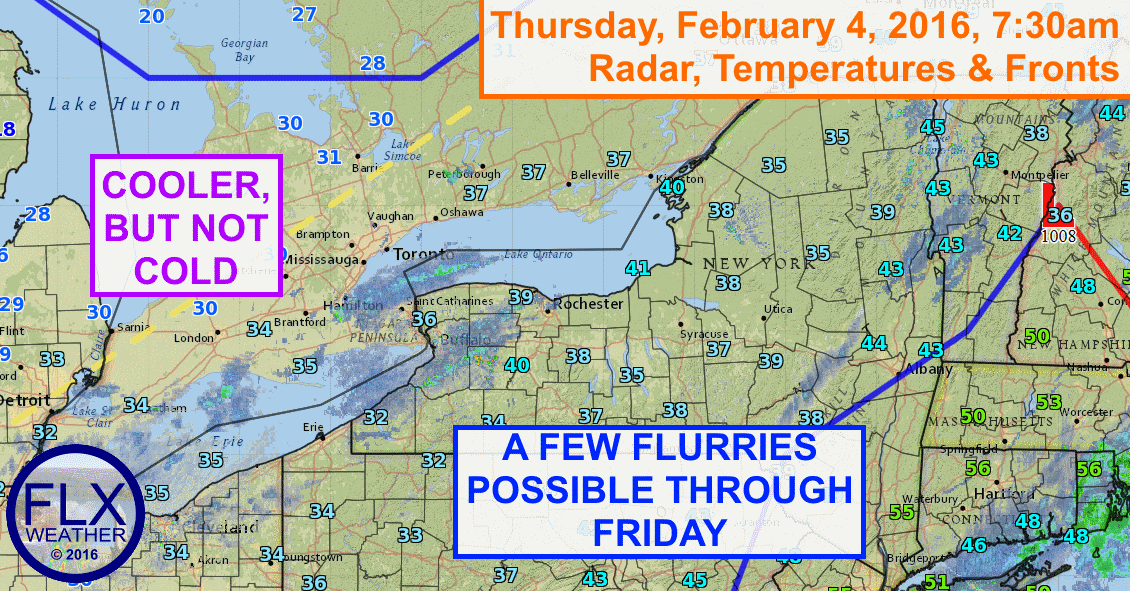 The weather for the next few days will be fairly quiet across the Finger Lakes.