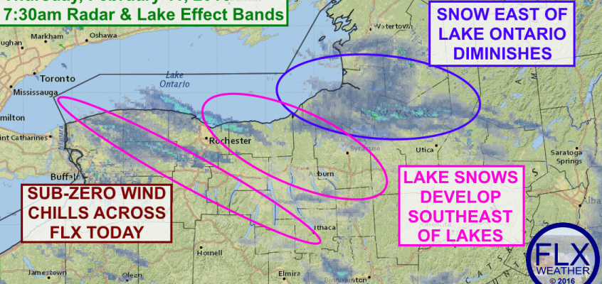Cold, snowy Thursday for Finger Lakes