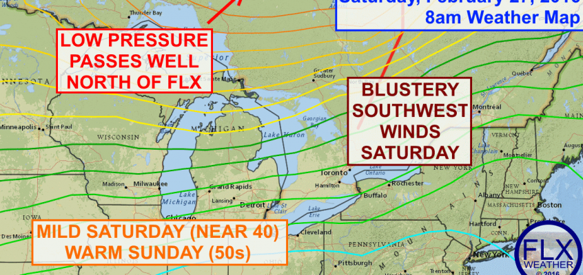Mild weekend in the Finger Lakes