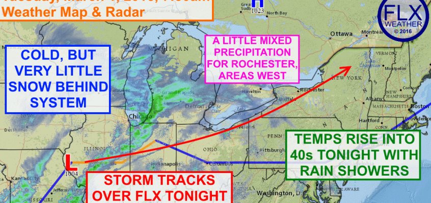 Another system brings rain, little snow to FLX
