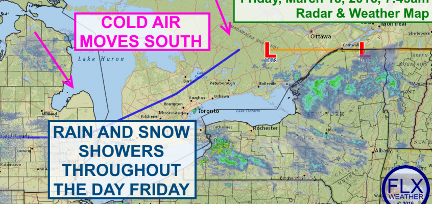 Cold air returns to the Finger Lakes