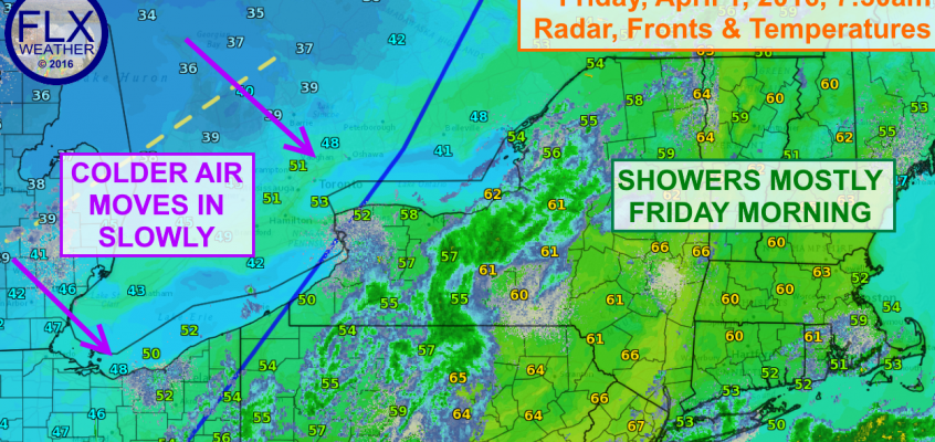 No Fooling- Snow and cold on the way for the Finger Lakes
