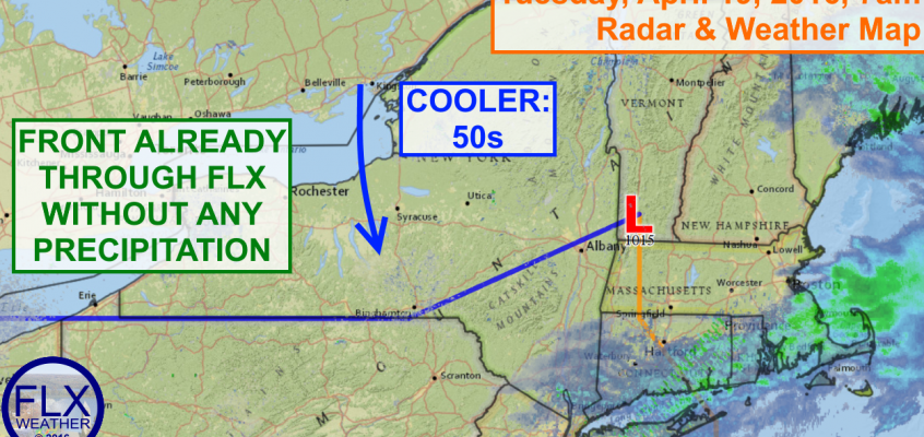 Cooler temperatures slide into Finger Lakes