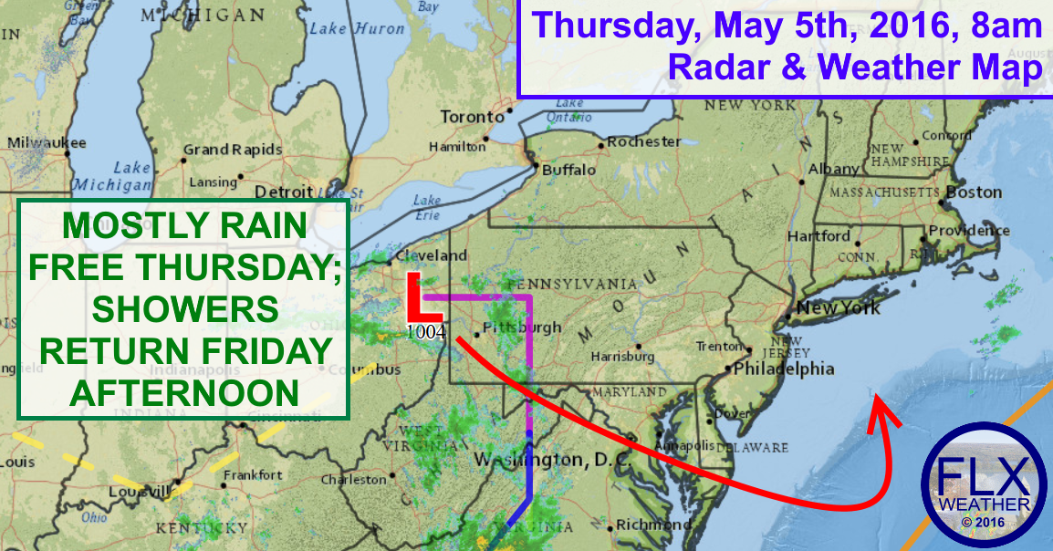 While Thursday will not be rainy, it will remain cloudy and cool across the Finger Lakes.
