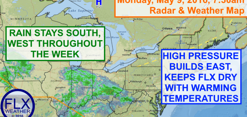 Improving weather for Finger Lakes