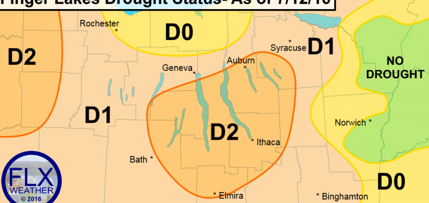 Finger Lakes Drought Report: July 15, 2016