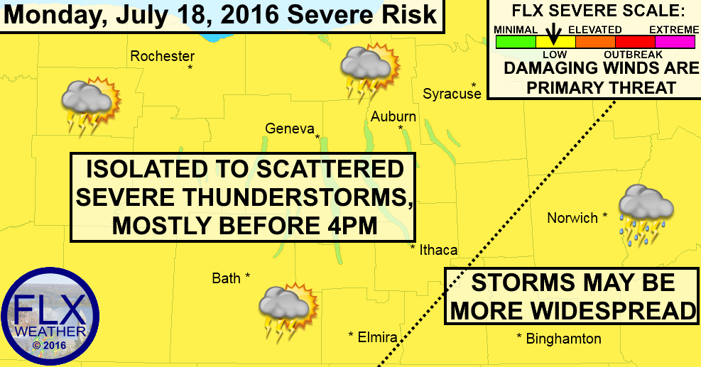 finger lakes severe thunderstorms monday juy 18 2016 damaging winds