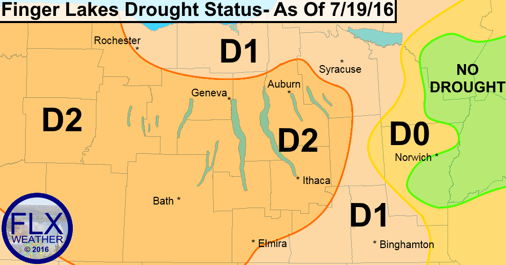 Finger Lakes Drought July 21 2016