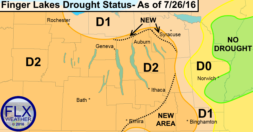 finger lakes drought july 2016