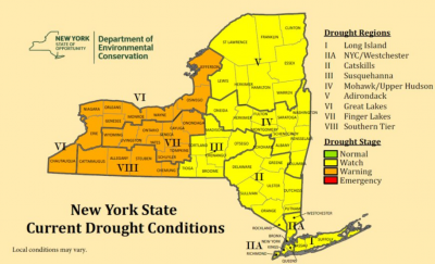 new york state drought warning drought watch