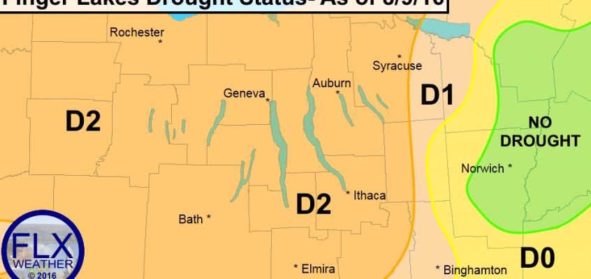 finger lakes severe drought report