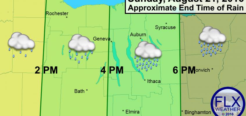finger lakes rain forecast sunday august 21 2016