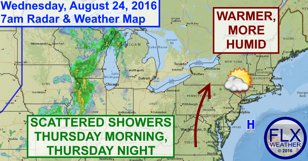 finger lakes weather forecast cold front rain