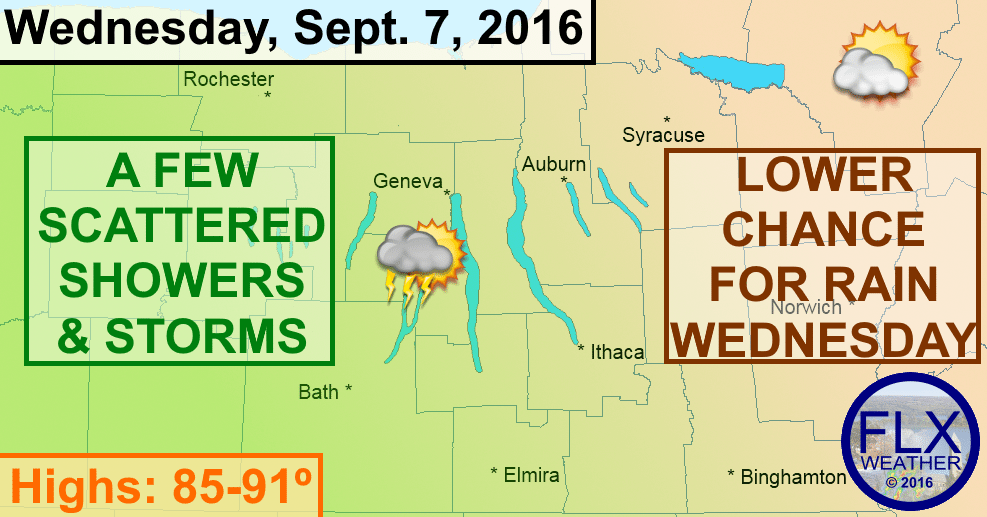 finger lakes thunderstorms wednesday september 7 2016