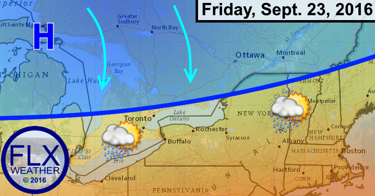 finger lakes cold front autumn chill