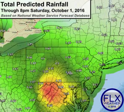finger lakes drought rain mid atlantic flooding