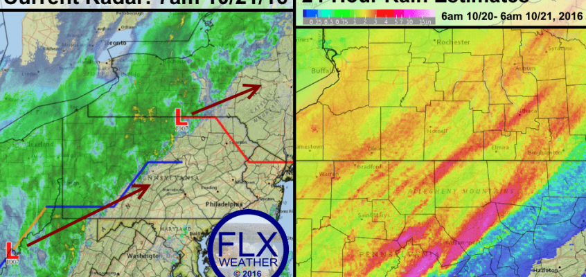 Major rain event continues into Saturday