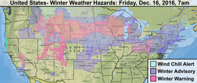 united states winter weather friday december 16 2016