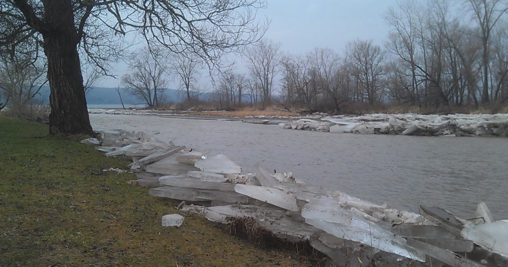 finger lakes weather forecast rain warm ice jam flooding