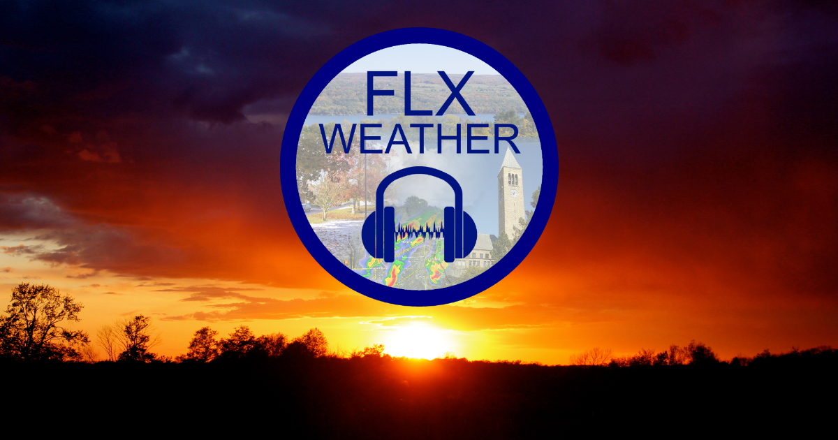 finger lakes weather forecast evening update audio podcast radio