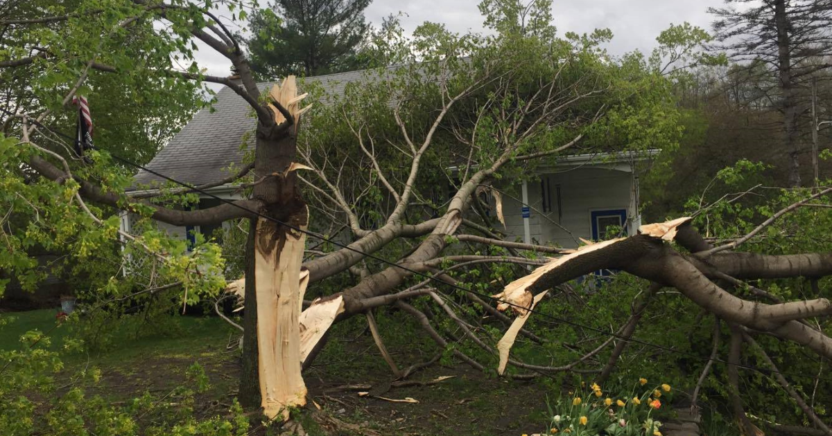 finger lakes weather storm damage monday may 1