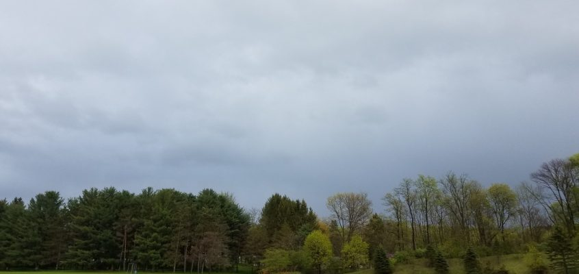 Stubborn clouds slow to dissipate Saturday