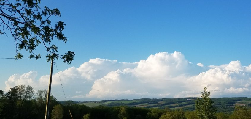 Scattered storms again Wednesday afternoon in the Finger Lakes