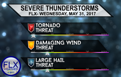 finger lakes weather severe thunderstorm threats wednesday may 31 2017
