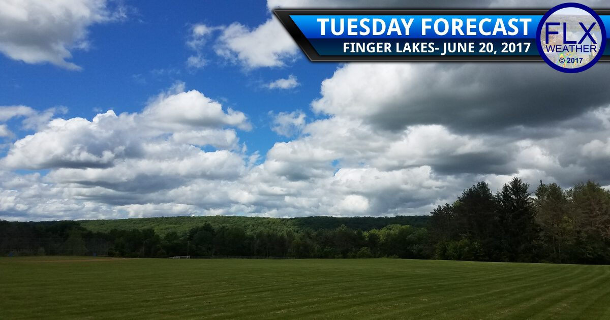 A few pleasant days for the Finger Lakes