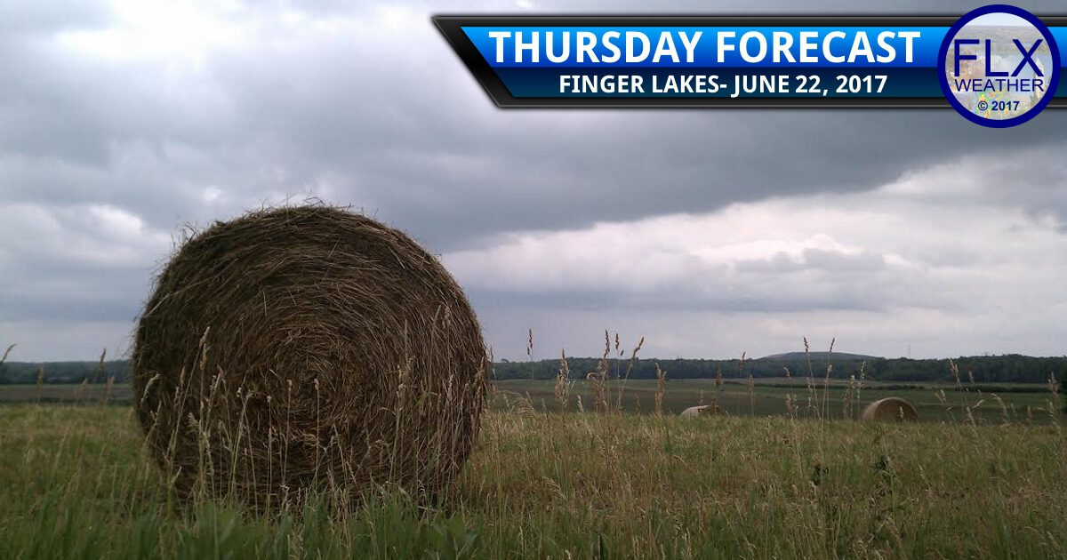 Increasingly rainy Thursday into Friday for the Finger Lakes
