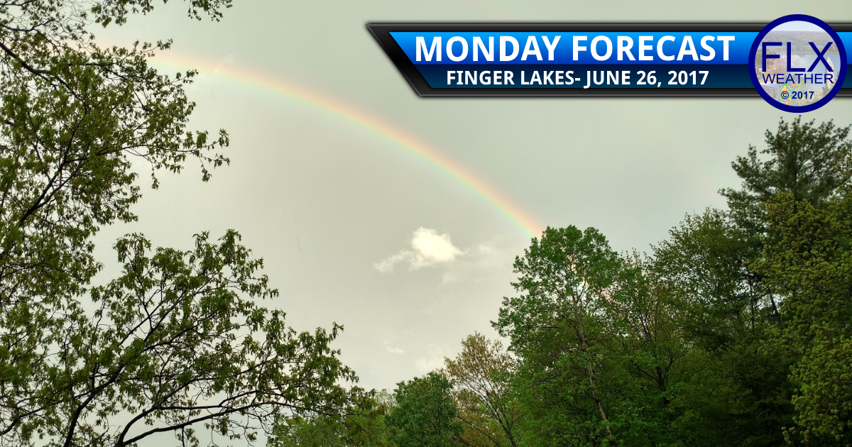 More on and off showers and storms for the Finger Lakes