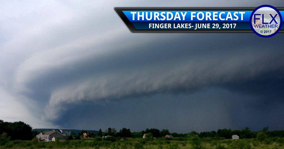 finger lakes weather forecast severe thunderstorms