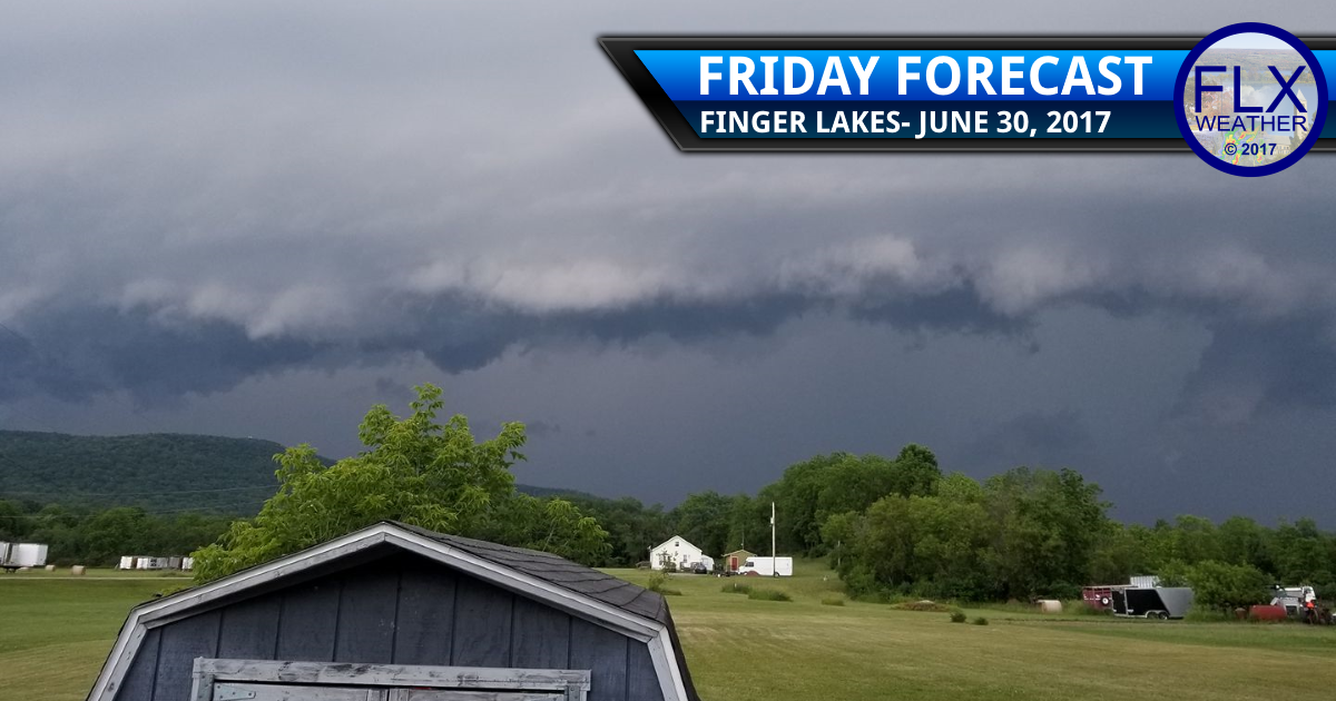A few strong storms Friday; more Saturday