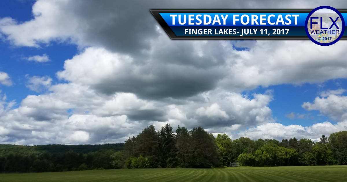 finger lakes weather forecast rain sun