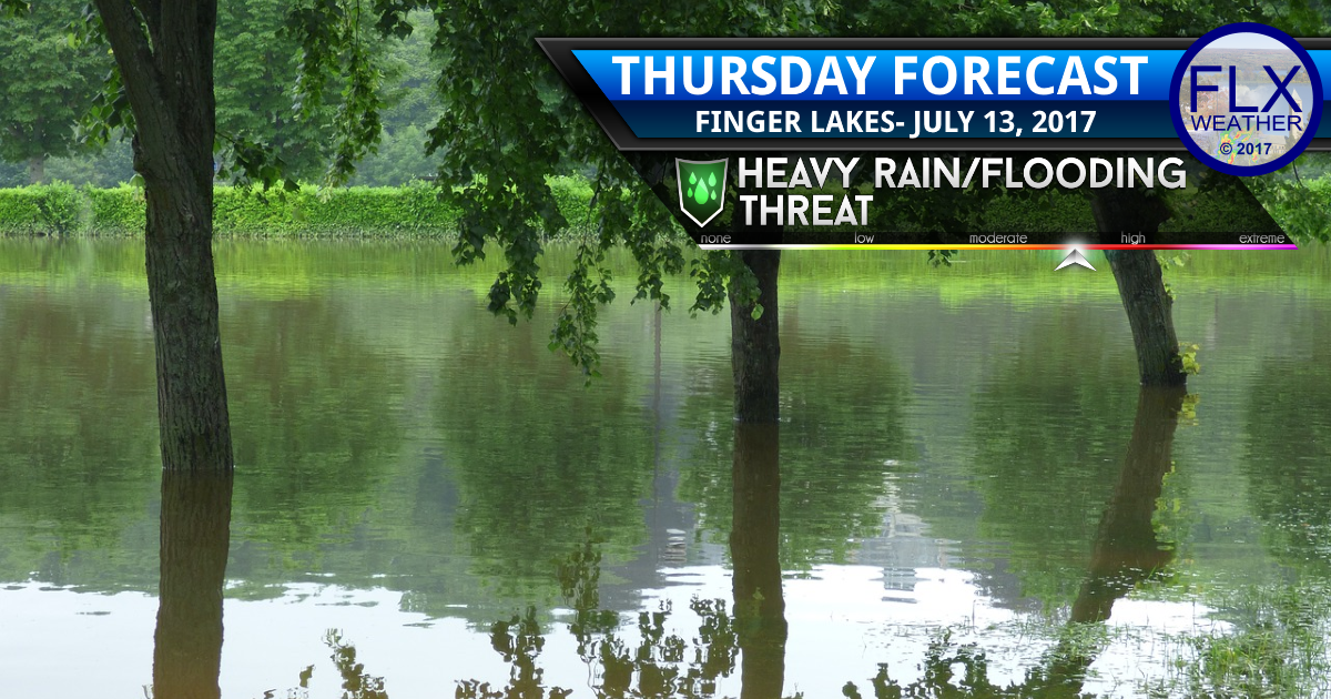 finger lakes weather forecast flash flood watch