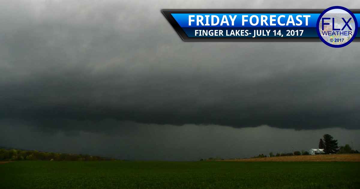 finger lakes weather forecast flash flood thunderstorms heavy rain