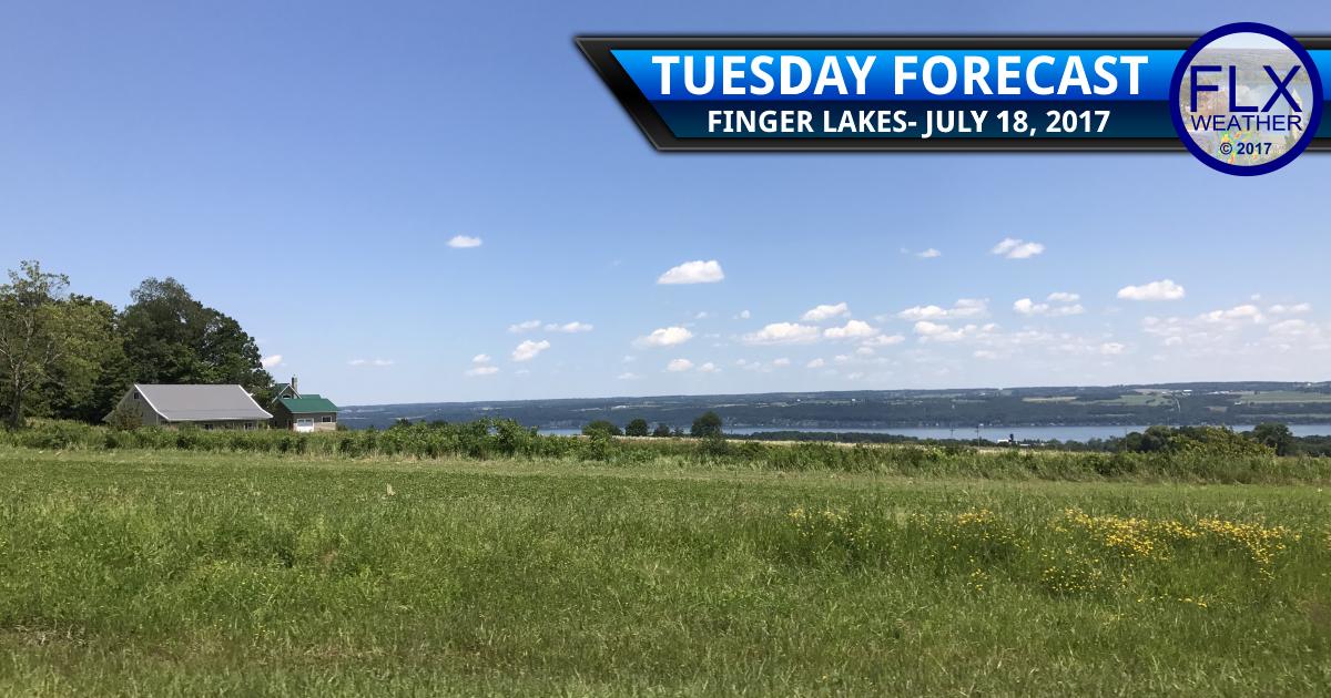 finger lakes weather forecast fog sun